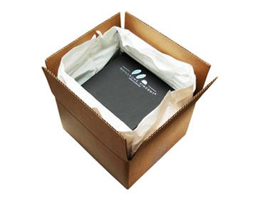 Colis préparé avec emballage isotherme